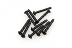 AXA0439 M3x20mm Hex Socket Tapping Button Head Black (10pcs)