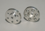 "RC4WD OEM Steel 2.2"" Stock Beadlock Wheel Hexes"