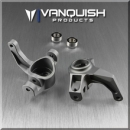 Axial Yeti / EXO Steering Knuckles Grey