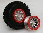 True Scale Series 2.2 Narrow Beadlock Wheel Set (4Stk.)