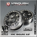 "KMC Enduro 2.2"" Wheels black"