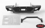 RC4WD Metal Front Bumper for Axial SCX10 I & II (Black)
