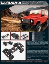 RC4WD 1/18 Gelände II RTR with Defender D90 Body Set