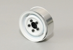 1.55 Landies Vintage Stamped Steel Beadlock Wheels (White)